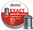 JSB Exact Monster 4,52mm 0,87g - 4,5 mm luodit - 130400000011 - 1