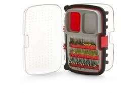 Max Nymph/Dry 446 Fly Box, Medium, Red - Perhorasiat - 051131191051 - 1