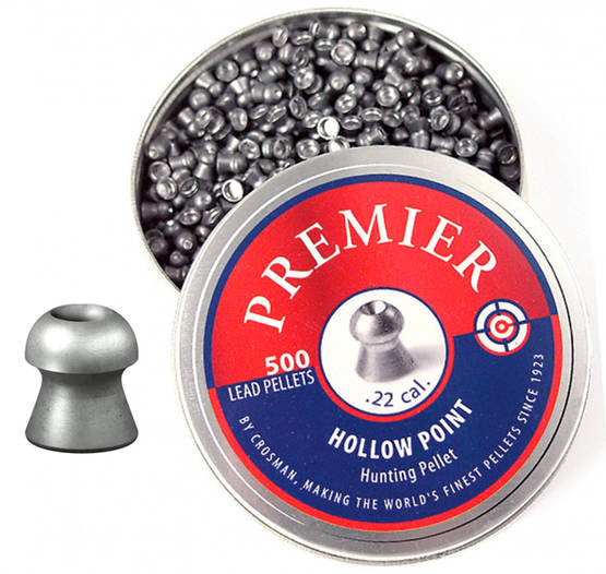 Crosman Premier HollowPoint 0,93g 5,5mm - 5,5 mm luodit - 028478133082 - 1