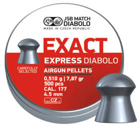 JSB Exact Express 4,52mm 0,510g - 4,5 mm luodit - 1330050000003 - 1