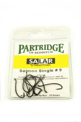 Partridge Salar Salmon Black 10kpl - Koukut - 5060019447963 - 1