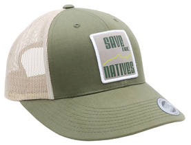 Save The Natives Cap Olive - Lippikset ja pipot - 6417512827423 - 1