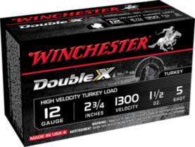 Winchester Supreme Double X 12/70 - Kaliiperi 12/70 lyijy - 020892001183 - 1