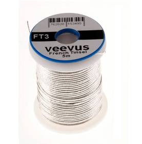 Veevus French Tinsel medium 10m - Langat, kierteet - 762820153464 - 1