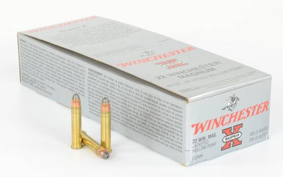 Winchester .22 Mag Hollow Point 2,59g 582m/s - Muut 22 patruunat - 020892100725 - 1