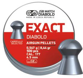 JSB Exact 4,50mm 0,547g - 4,5 mm luodit - 8594180450028 - 2