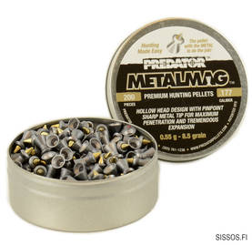 Predator Metalmag 4,5 mm 0,55g 200/ras - 4,5 mm luodit - 894421600396 - 1