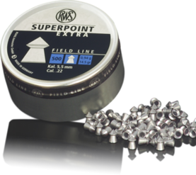 RWS Superpoint Extra 5,5mm 0,94g 500 kpl - 5,5 mm luodit - 4000294136726 - 1