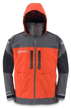 Simms ProDry Jacket fury orange - Kahluutakit ja perholiivit - 739698722856 - 1