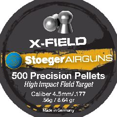 Stoeger X-Field 4,5mm 0,56g - 4,5 mm luodit - 037084303666 - 1