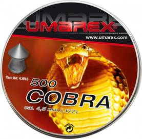 Umarex Cobra 4,5mm - 4,5 mm luodit - 4000844462718 - 1