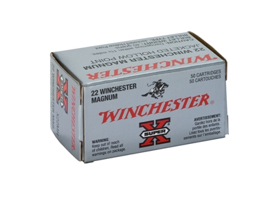 Winchester .22 Mag Hollow Point 2,59g 582m/s - Muut 22 patruunat - 020892100718 - 1
