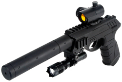 Gamo P-25 Blowback Tactical 4,5 mm - Hiilidioksidi - 793676038339 - 1