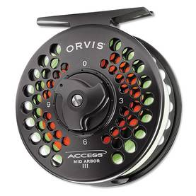 Orvis Access Mid Arbor Black Nickel perhokela - Perhokelat - 713506291659 - 1