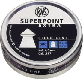 RWS Superpoint 4,50mm 500kpl ras - 4,5 mm luodit - 4000294136719 - 1